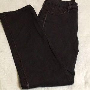 NYDJ Black Jeans Sz 4P